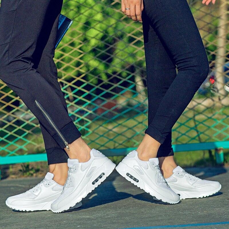 Laamei Women Sneakers Vulcanize Shoes Air Mesh Casual Summer Ladies Fashion Shoes Women Lace-Up Footwear Shoes