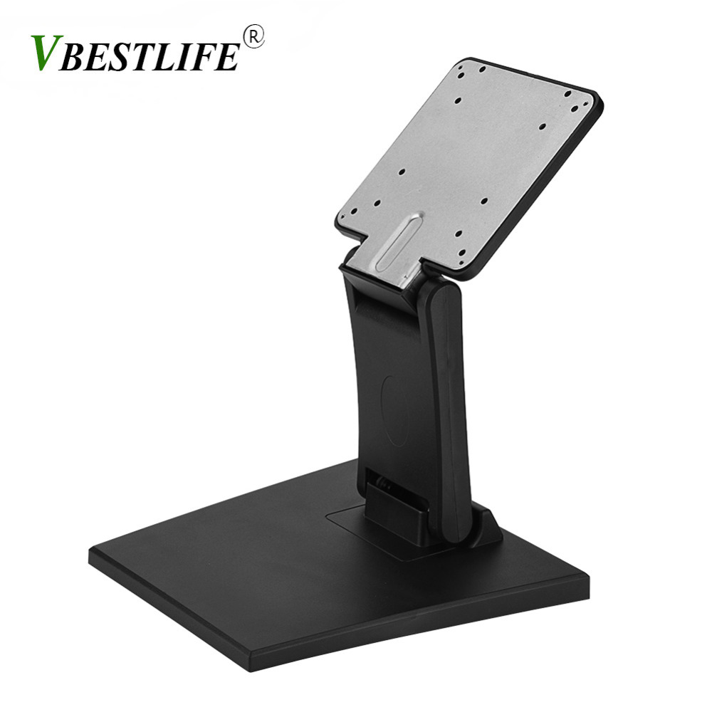 Desk Bracket Mount Stand Holder Base for 10-24 Inch Flat LED LCD Monitor Screen