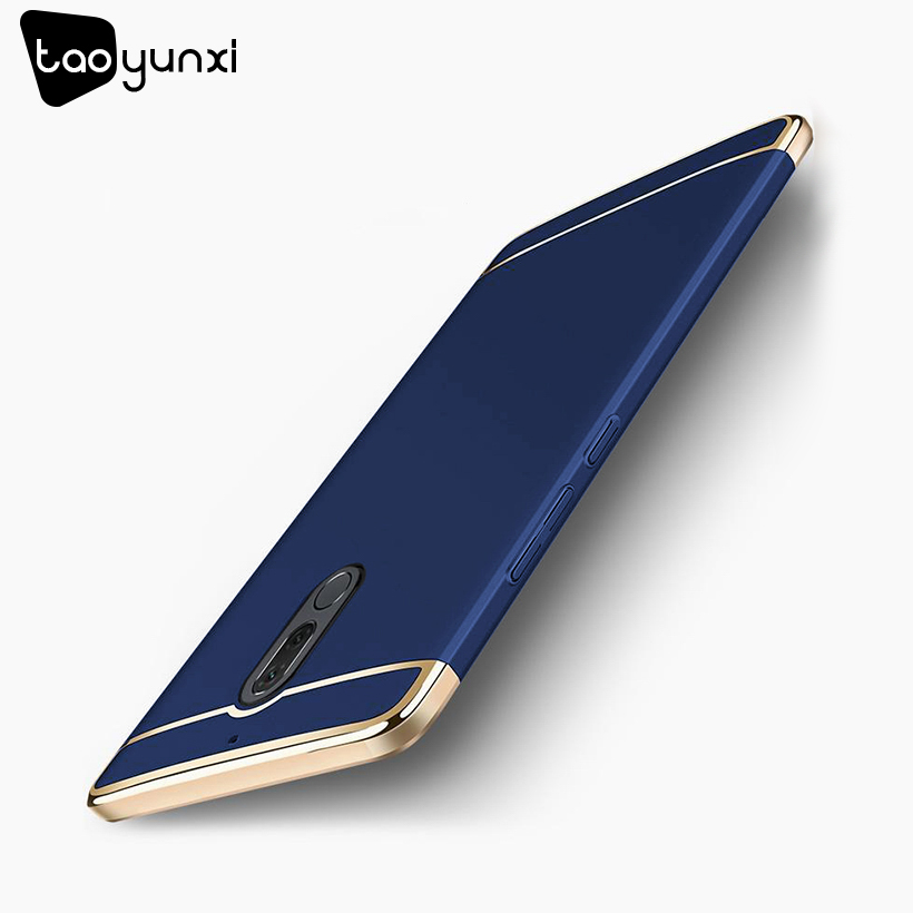 TAOYUNXI Plating Plastic Case For Huawei G10 Case Back Cover for Mate 10 Lite Nova 2i Maimang 6 Honor 9i 5.9inch Anti-Knock Etui