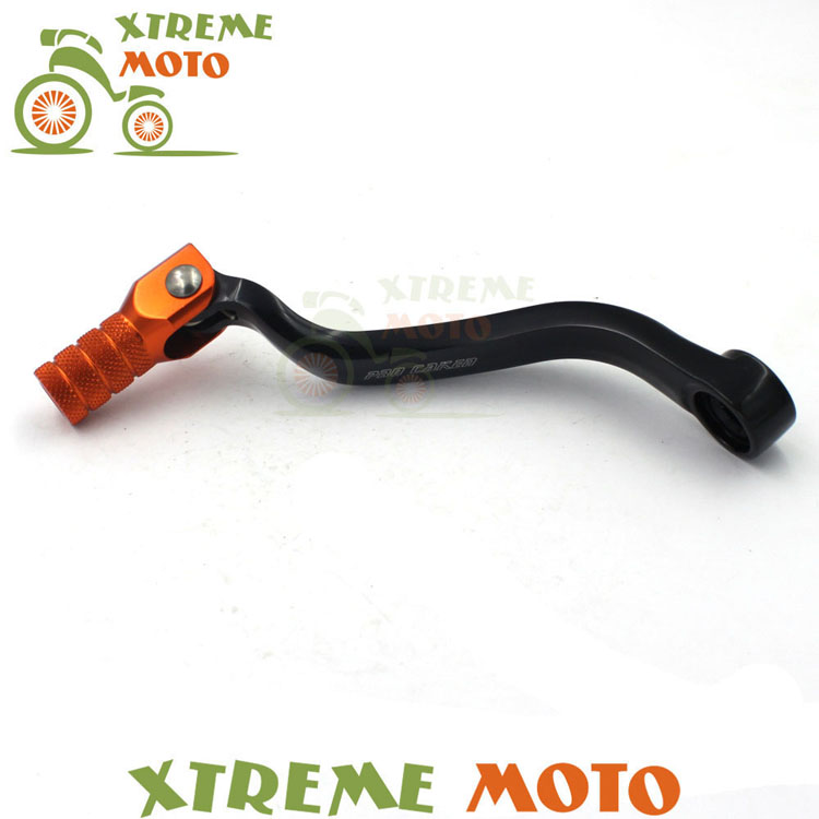 CNC Gear Shift Shifter Lever For KTM 125 SX EXC 150 SX XC 200 EXC SX MXC XC XCW 250 SXF XCF EXCF XCFW 350 SXF XCF 450 SX XCF SXF cnc stunt clutch lever easy pull cable system for ktm exc excf xc xcf xcw xcfw mx egs sx sxf sxs smr 50 65 85 125 150 200 250