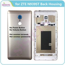 Battery Cover For ZTE N939ST Back Battery Cover Door Housing Case for ZTE N939ST Replacement No Power Button No Volume Button AA(China)