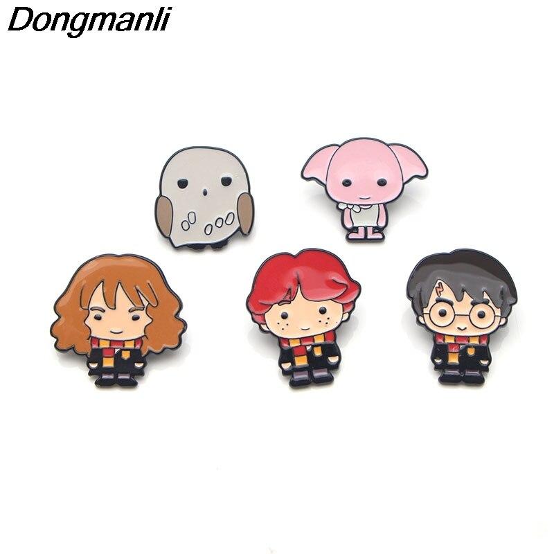 Dongmanli drôle INVADER ZIM métal Alien émail broches et broches pour enfants