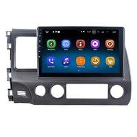 Для Honda для Civic 2006 2011 Android 8,1 Авто Радио Стерео gps навигация Navi медиа мультимедийная система PhoneLink