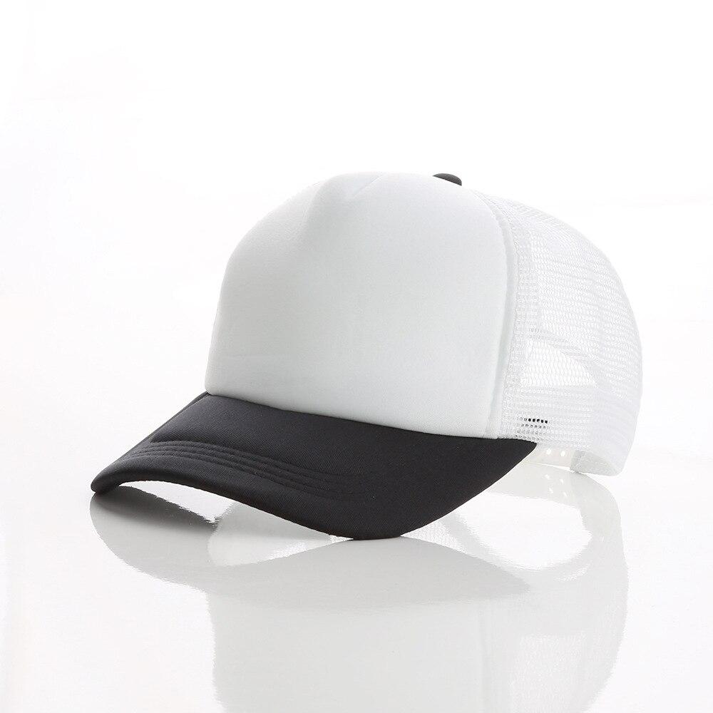 LJ104 di Estate Degli Uomini Delle Donne di Sun Visiera del Berretto Da Baseball Del Cappello di Colore Solido di Modo Protezioni Registrabili - 6