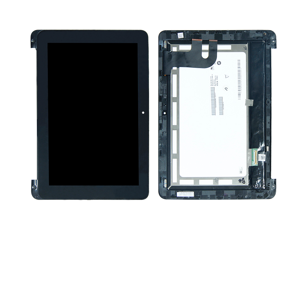 Free Shipping For ASUS Chromebook Flip 10.1 C100PA C100P Touch Screen Digitizer LCD Display Assembly Frame Replacement black full lcd display touch screen digitizer replacement for asus transformer book t100h free shipping