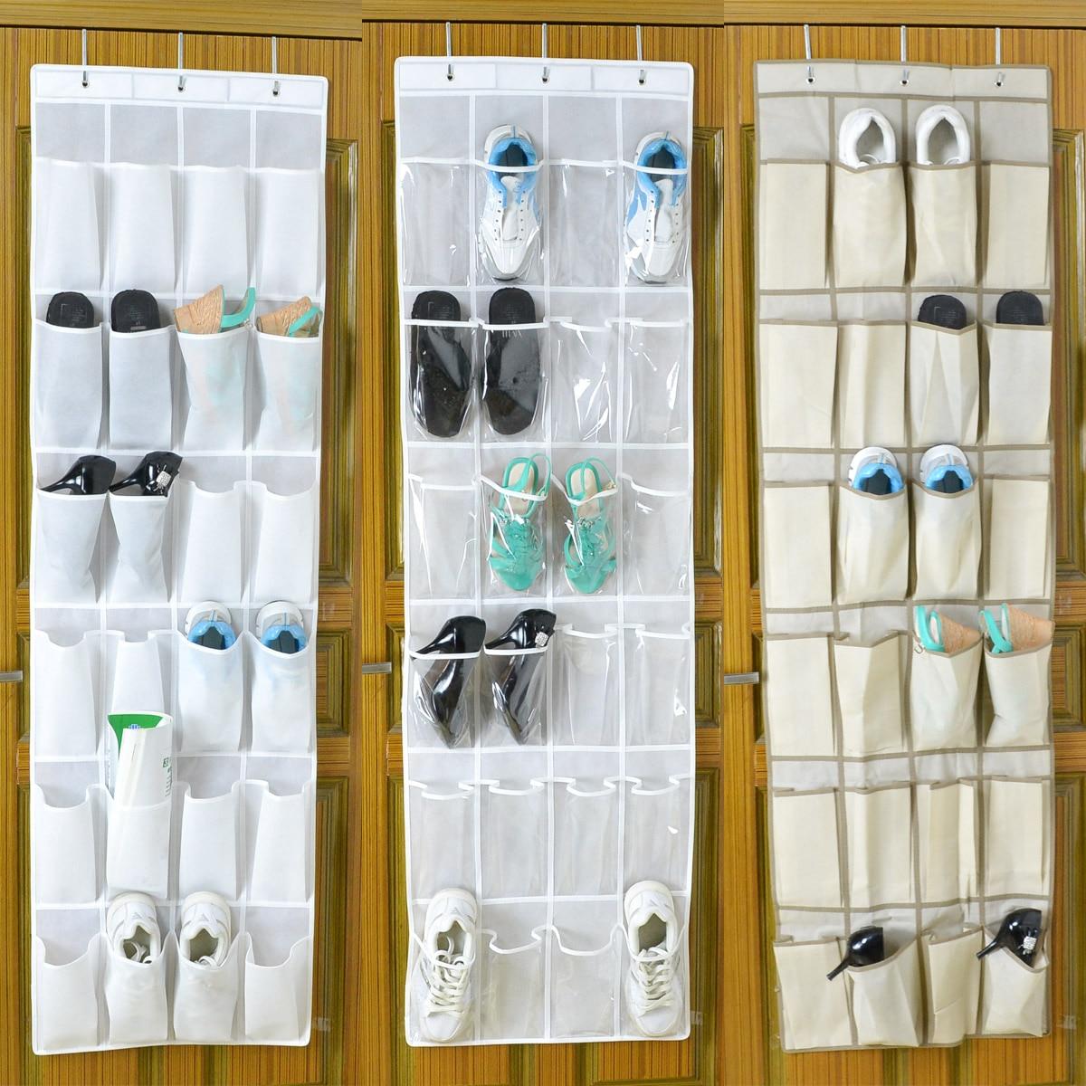 Schoenen Opbergzak Deur.Primped 20 Non Woven Small Storage Bag Walls Shoes Bag Door
