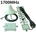 AWS 1700MHz Signal Booster for Cell Phones 3g indoor Repeater Power Amplifier Free shipping