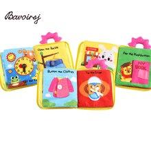Bavoirsj neue frühe Bildung Puzzle Tuch Buch Papier Buch Baby Story Montessori Spielzeug kleine Puppen zu Hause Waldorf Spielzeug B1808