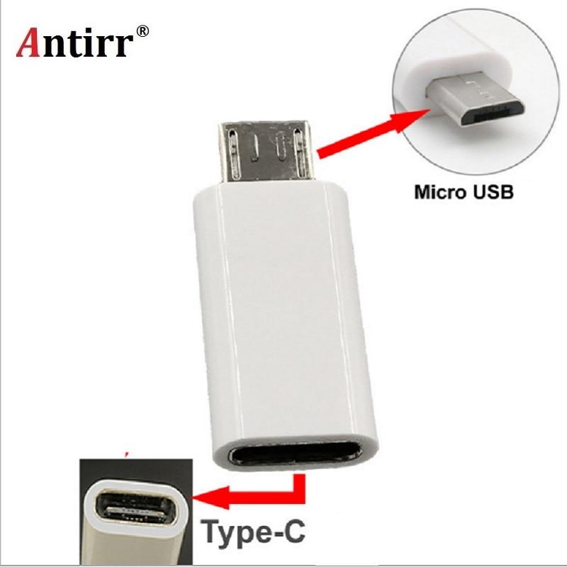 Type C Female To Micro USB Male Adapter Connector Connect Type C Device To Micro USB Device For Samsung Galaxy S7 Edge