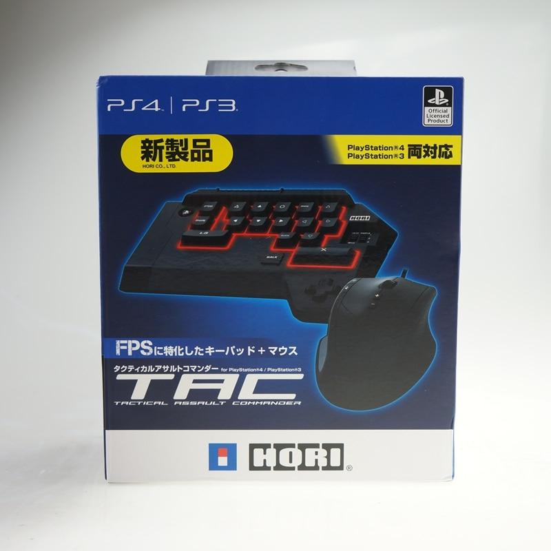 Original HORI TAC USB keyboard mouse combos for PS3/PS4 wired USB gaming keyboard gaming mouse high end christmas gifts