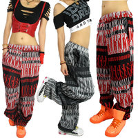 2013 New Fashion Brand Korean Style Harem Hip Hop Dance Pants Sweatpants Costumes Female Casual Sports
