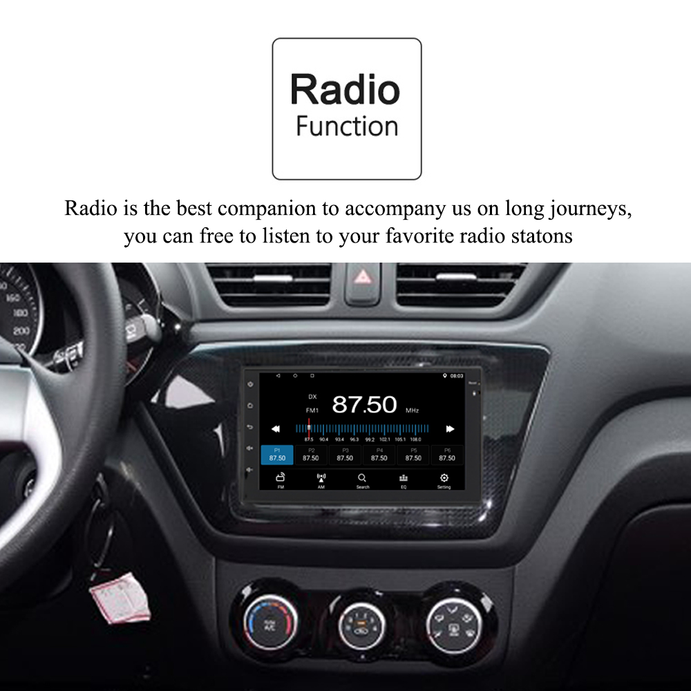 Panlelo 2 Din Android Car Radio 7
