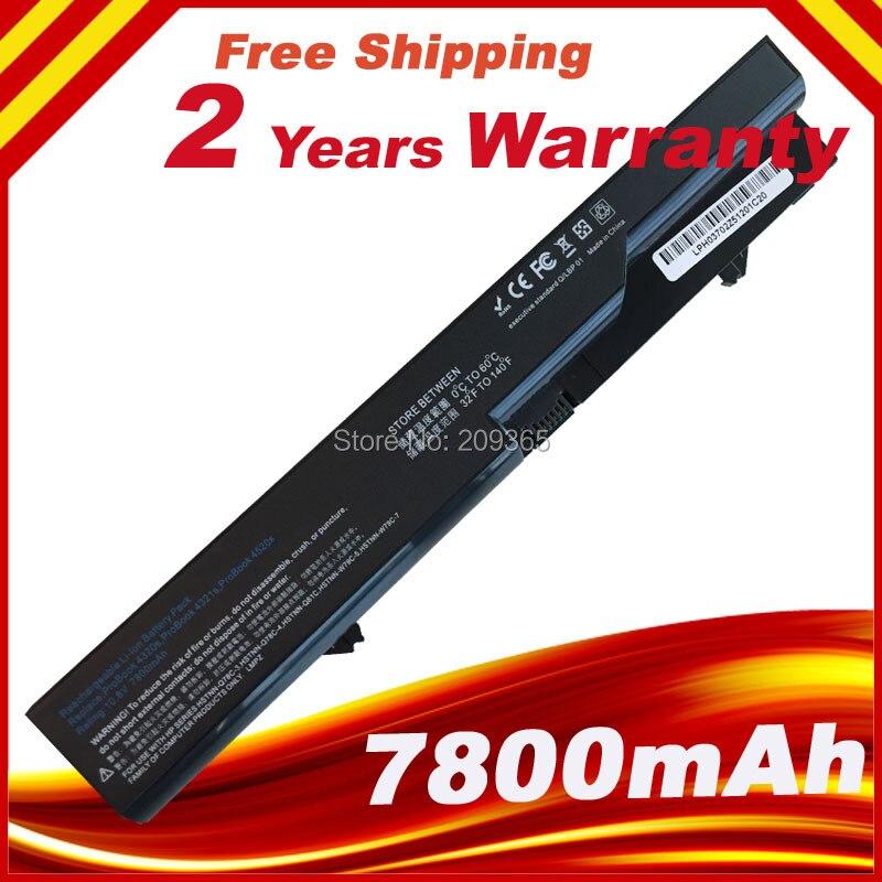 9 Cells 6600mAh Laptop Battery For HP ProBook 4320 4325s 432