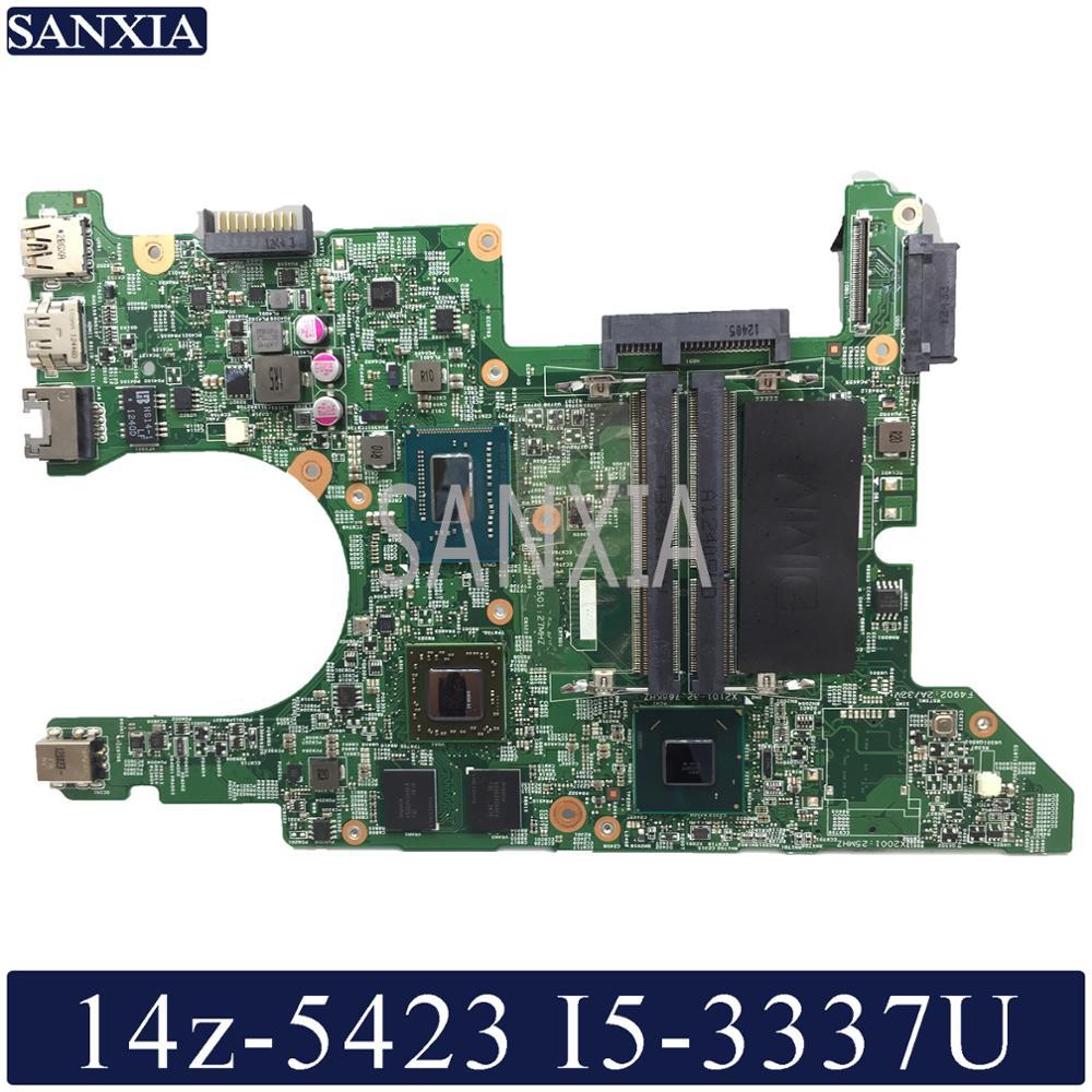 KEFU 11289-1 Laptop Motherboard For Dell Inspiron 14z 5423 Original Mainboard I5-3337U/3317U AMD-Video Card
