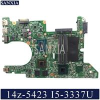 KEFU 11289 1 Laptop motherboard for Dell Inspiron 14z 5423 original mainboard I5 3337U/3317U AMD Video card