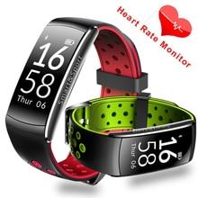 Новый Smart Band IP68 водонепроницаемый смарт-браслет Heart Rate SmartBand Фитнес трекер умный Браслет Носимых устройств часы PK S2