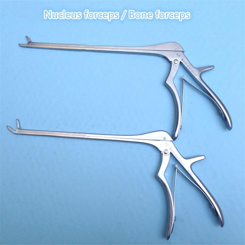 Stainless Steel Curved Head Bone Puncn Forcep Bone Forceps Bone Scissors Veterinary Orthopedics Instruments