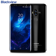 Blackview S8 4GB 64GB Smartphone Android 7.0 MT6750T Octa Core 5.7 Inch 18:9 HD+ Full Screen Four Cameras Mobile Phone 3180mAh