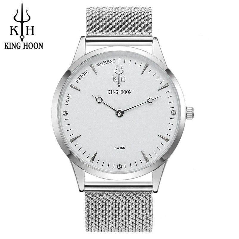 Uhren KÖnig Hoon Männer Uhr Frauen Uhren Damen 2017 Marke Luxus Berühmte Weibliche Uhr Quarzuhr Handgelenk Relogio Feminino Montre Femme