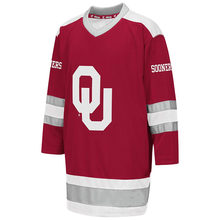 Oklahoma Soonersy Hockey Jersey Embroidery Stitched Customize any number  and name Jerseys d5f76f314