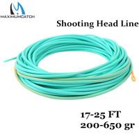 Maxcatch Shooting Head Fly Line With 2 Welded Loops 23FT 450G Double Color Floating Fly Line