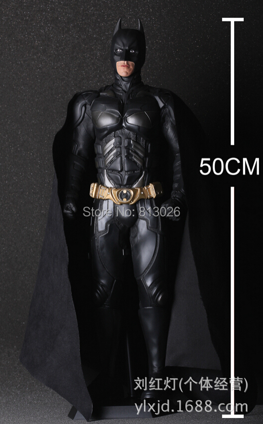 Batman The Dark Knight 50cm Action Figures PVC brinquedos Collection Figures toys for christmas gift With Retail box hot anime 24cm trafalgar law one piece action figures anime pvc brinquedos collection figures toys with retail box birthday gift