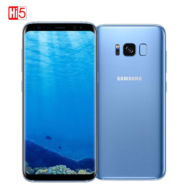 Sbloccato originale Samsung Galaxy S8 Più 4G RAM 64G ROM 6.2 pollici Qualcomm Octa Core 4G LTE di Impronte Digitali Cellulare Android 7.0