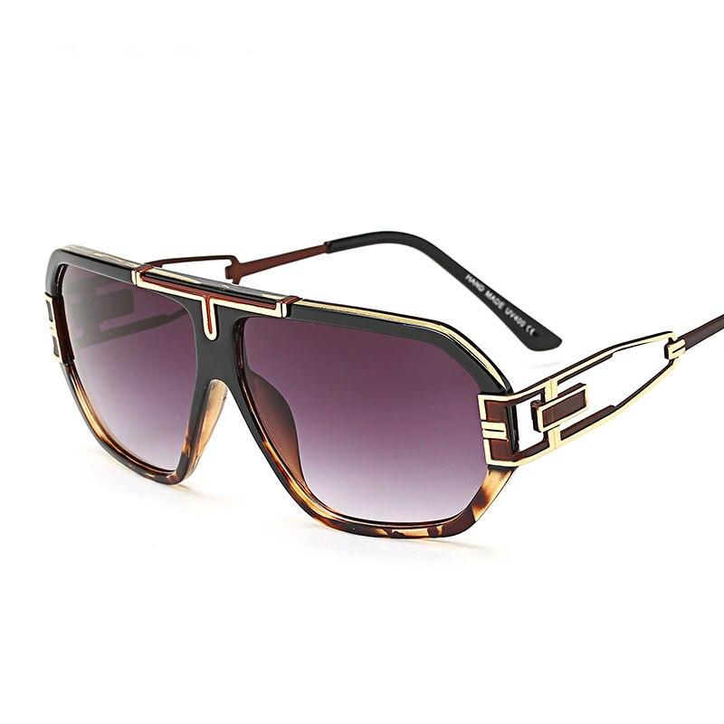 Steampunk Goggles Men Carter Oversized Sunglasses Luxury Brand Women Transparent Oculos Female Sun Glasses Driver Eyeglasses