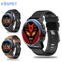 Kospet Optimus Pro Dual Systems 4G Smart Watch 3GB+32GB 8MP Camera GPS SIM 800Mah Battery Waterproof Android Smartwatch Phone