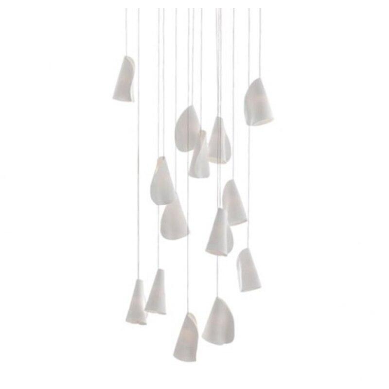 21 21.14 Rectangle Pendant Chandelier Suspension Light Indoor Lamp Dining Lighting Fixture