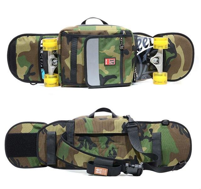 Mackar 2017 Skateboard Bags Oxford Cloth Mens Or Women S Crossbody Skate Carry Bag Street Fashion