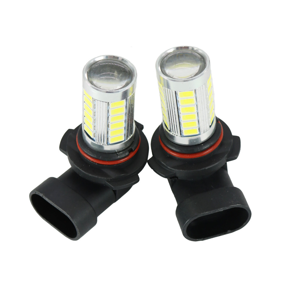 2Pcs LED Light For VW Transporter Multivan Caravelle T5 2003 2004 2005 2006 2007 2008 2009 2010 LED Fog Light Fog Lamp Bulbs cawanerl car 5630 smd led bulb interior led kit package white for chevrolet trailblazer 2002 2003 2004 2005 2007 2008 2009