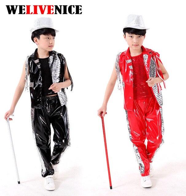 Cantata Bambini Bambini Costume di Ballo di Jazz Hip-Hop Danza Costume  Della Ragazza Modello 94f9877b90f3