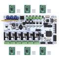 Материнская плата BIQU Rumba MPU RUMBA Оптимизированная версия управления с 6 шт. A4988 шаговый Драйвер для 3D принтера RepRap