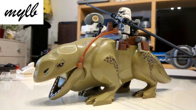 mylb Star Wars 7 Byggstenar Dewback Desert Storm soldater troopers figurer leksaker Barn Action Figur gåva Kompatibel
