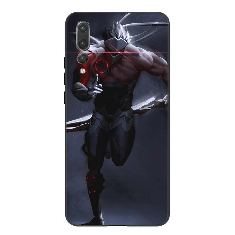 Desxz de silicona del teléfono del Tpu del caso Overwatch celular para Huawei Nova 2i 3i 3 4 Y5 Y6 Y7 Y9 Mate 10 lite Pro primer cubierta