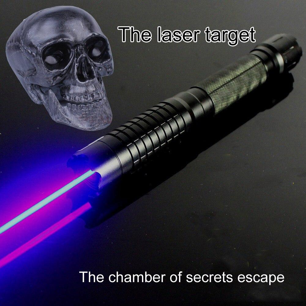 Chambre de réalité d'évasion laser tir laser serrure laser induit accessoires autorité reconnaissant à la lumière