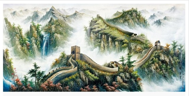 Customized 3d Wallpaper Wall Murals The Great Scenery Beauty Non Woven