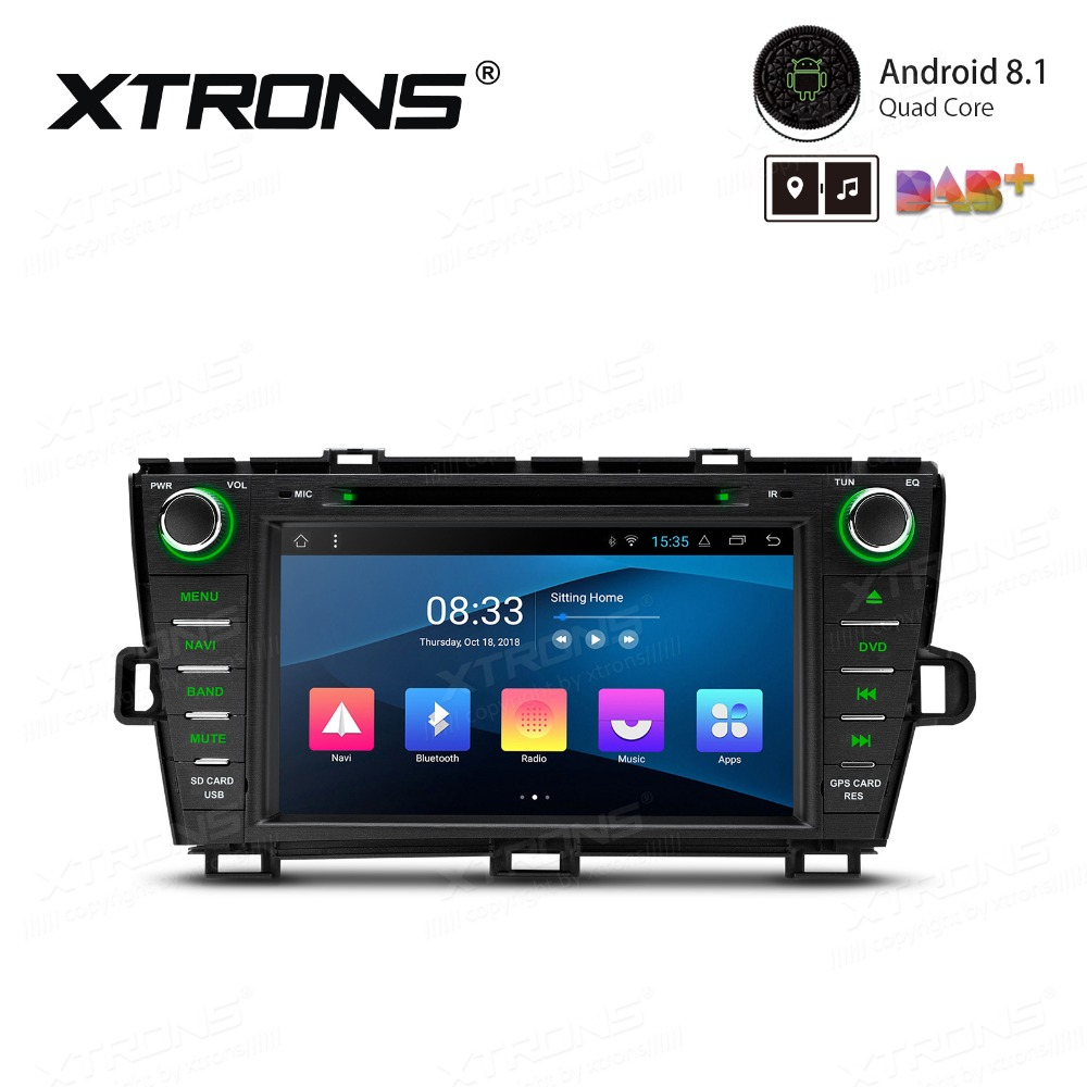 Android 8.1 <font><b>Car</b></font> Multimedia DVD Player GPS GPS Navigation Radio for <font><b>Toyota</b></font> Prius Right Hand <font><b>Drive</b></font> 2009 2010 2011 2012 2013 image