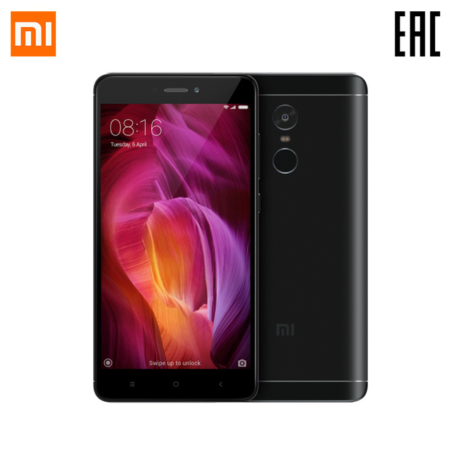 Смартфон Xiaomi RedMI Note 4 32 ГБ Официальная гарантия 1 год Бесплатная доставка от 2 дней акция начнется 11-ого ноября