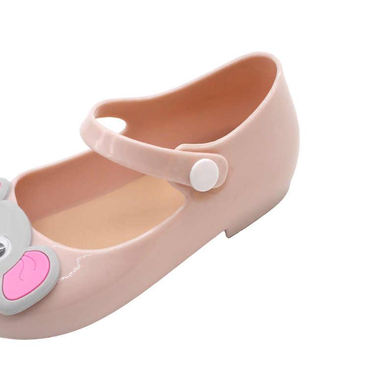 80d5d360dff2 ... Girls Jelly Shoes Cartoon Elephant Children Sandals Cute Girls Baby  Jelly Sandals Infant Kids Sweet princess