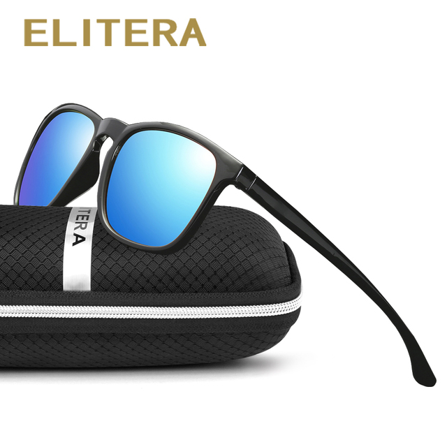 ELITERA מותג יוניסקס רטרו משקפי שמש מקוטב עדשת בציר משקפי שמש אביזרי משקפיים לגברים/נשים