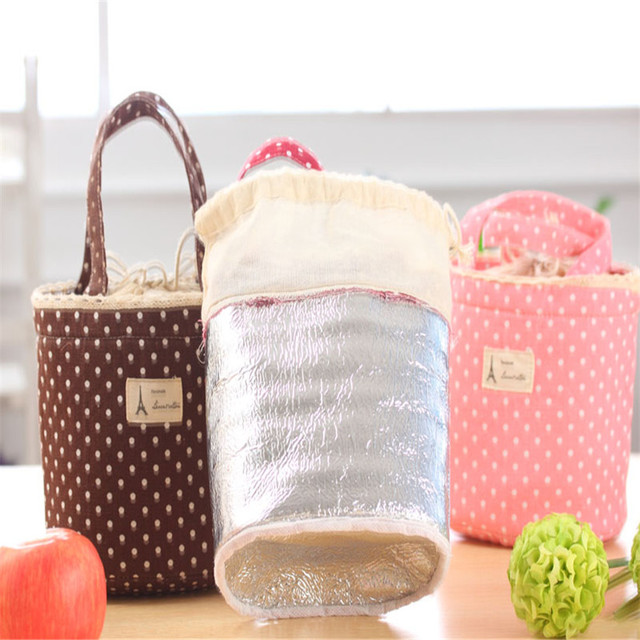 Homewider Hot Sell  Thermal Insulated Lunch Box Cooler Bag Tote Bento Pouch Lunch Container Nov27