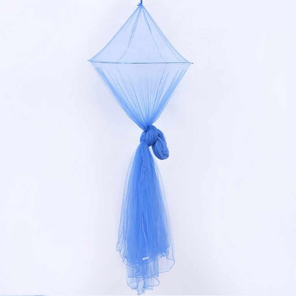 2019 โดมลูกไม้มุ้งกันยุง Netting ป้องกันบ้านผ้าคลุมเตียงมุ้งกันยุงผ้าม่านผ้าปูที่นอนเต็นท์ขายร้อน