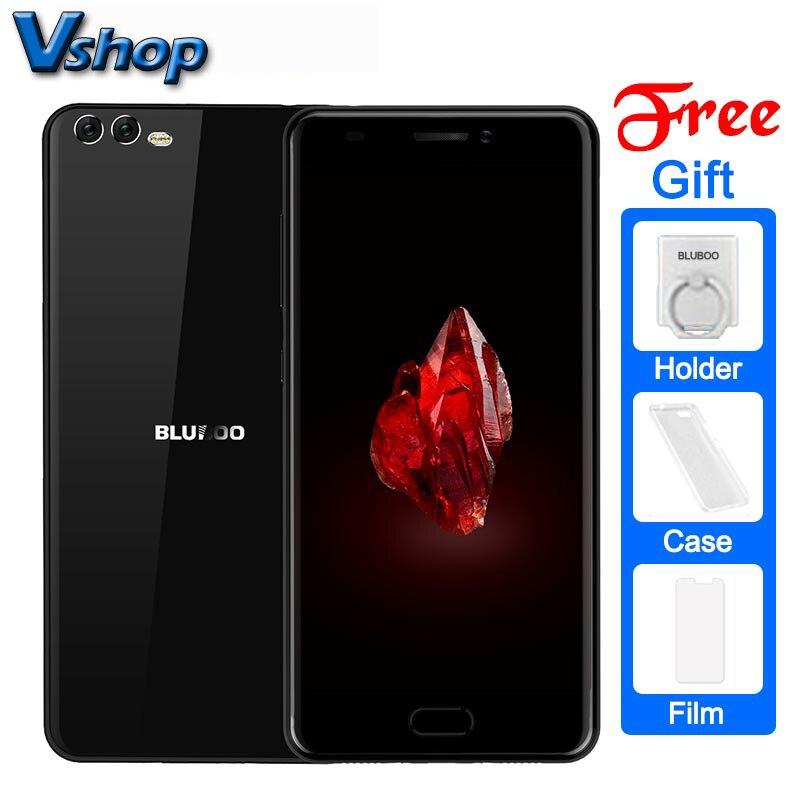 Оригинальный bluboo D2 3G Мобильные телефоны Android 6.0 1 ГБ Оперативная память 8 ГБ Встроенная память 4 ядра смартфон 720 P двойной назад Камера 5.2 дюймов сотовый телефон