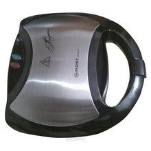 Сэндвич-тостер FIRST FA-5342 Black  (Мощность 750 Вт, вместимость отсека 4 сэндвича, антипригарное покрытие, защита от перегрева, Световая индикация включения)