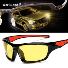 2018 New Yellow Polarized Sunglasses Men Night Vision Glasses Brand Designer Women Spectacles Car Drivers Goggles For Man 1019