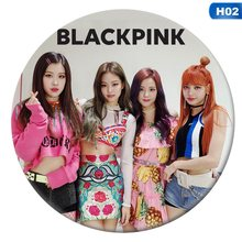 New Design Korean KPOP BLACKPINK Album Brooch 2018 New Fashion Pin Badge Accessories For Clothes Hat Decoration(China)