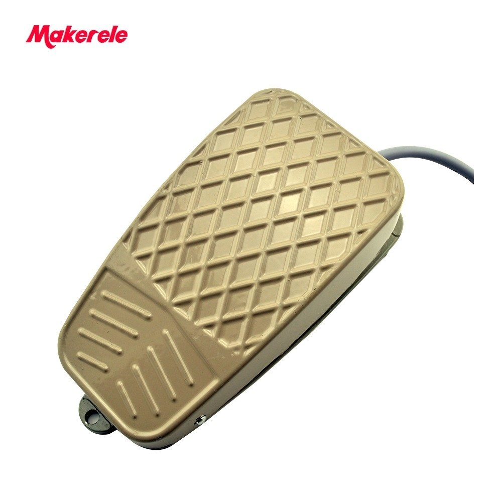 Electric Power Foot Pedal Switch aluminum alloy MKYDT1-3 Hot SPDT Nonslip Metal Momentary from makerele bowtie hemp black ankle strap white canvas espadrilles shoes bow flats fisherman sandals ladies lace up women straw cute pom pom