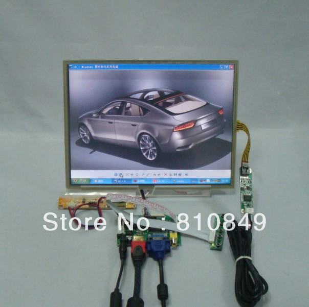 HDMI+VGA+2AV Control board+12.1inch 1024*768 N121X5 LTN121XJ Lcd + Touch panel  N121X5 LTN121XT HT121X01 hdmi dvi vga control board 8 9inch n089l6 1024 600 lcd panel touch screen n089l6 l02 hsd089ifw1 b089aw01 v3 ltn089nt01